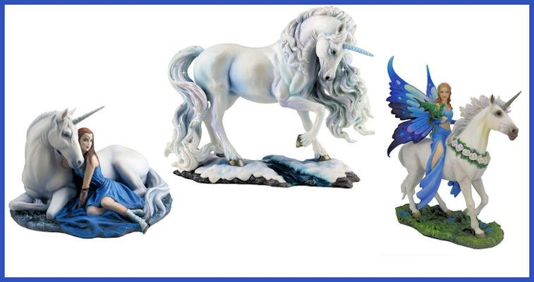Unicorn Figurines & Fantasy Art