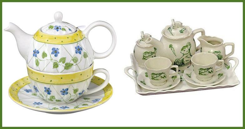 Tea Sets, Tea Cups, Teapots
