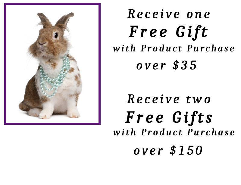 Free Gifts Bunny