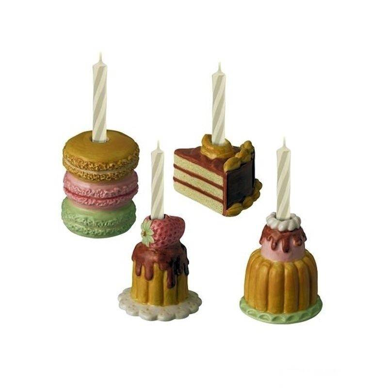 Birthday Candle Holder French Patisserie Style