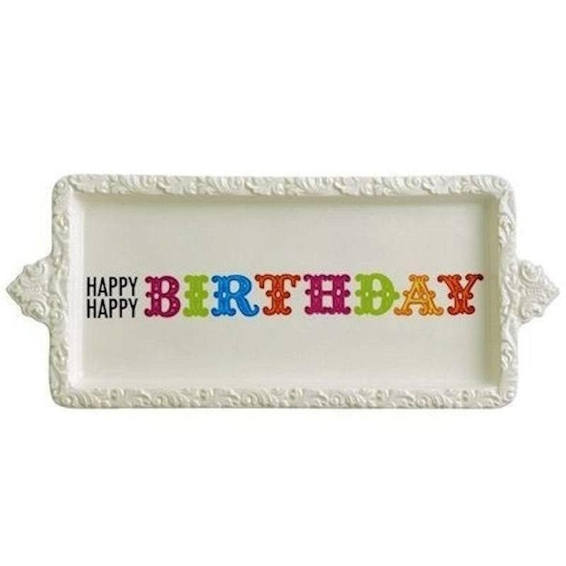 Birthday Cake Serving Plate