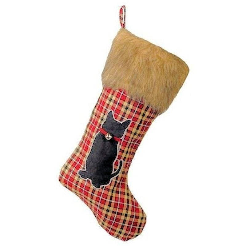 Cat Christmas Stockings.Pet Christmas Stocking For Cats By Grasslands Road