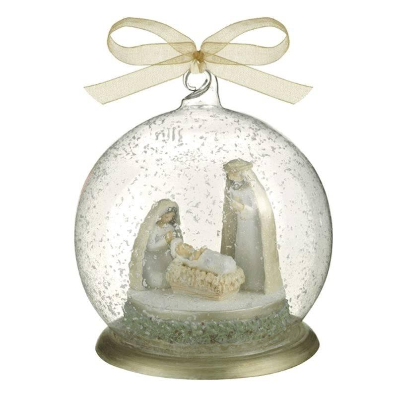 Christmas Ornament Nativity in Glass - $22.00