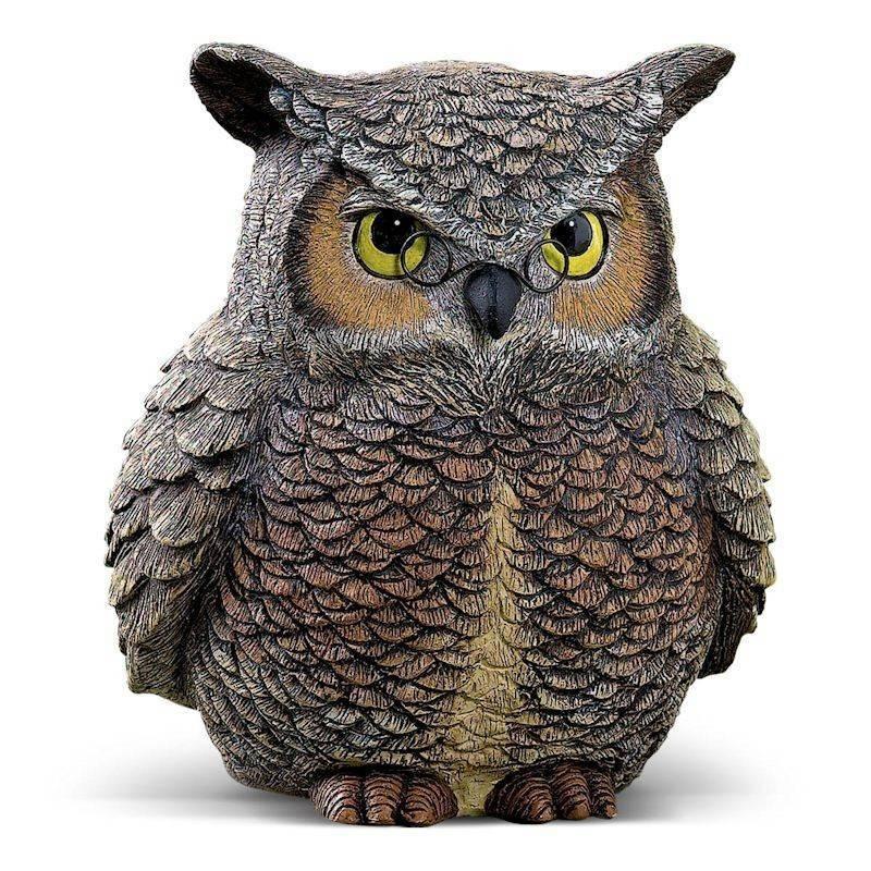 Hide A Key Owl Garden Figurine By Grasslands Road