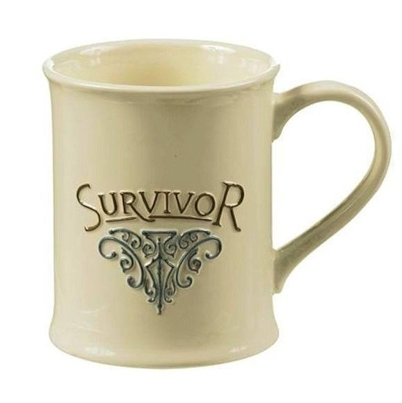 Coffee mug for a victorious survivor Home decor survivor 4