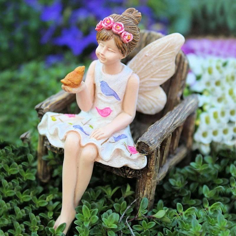 Anna Fairy Garden Figurine