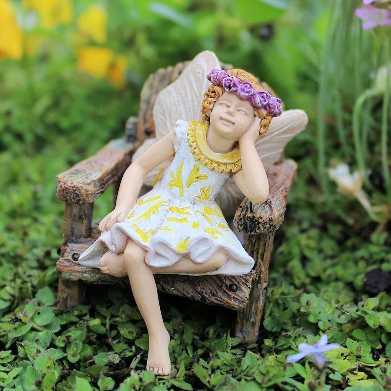 Hattie Fairy Garden Figurine